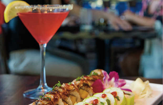 "Blue Sushi named one of ""The Top 10 Happy Hour Spots in Fort Worth"""