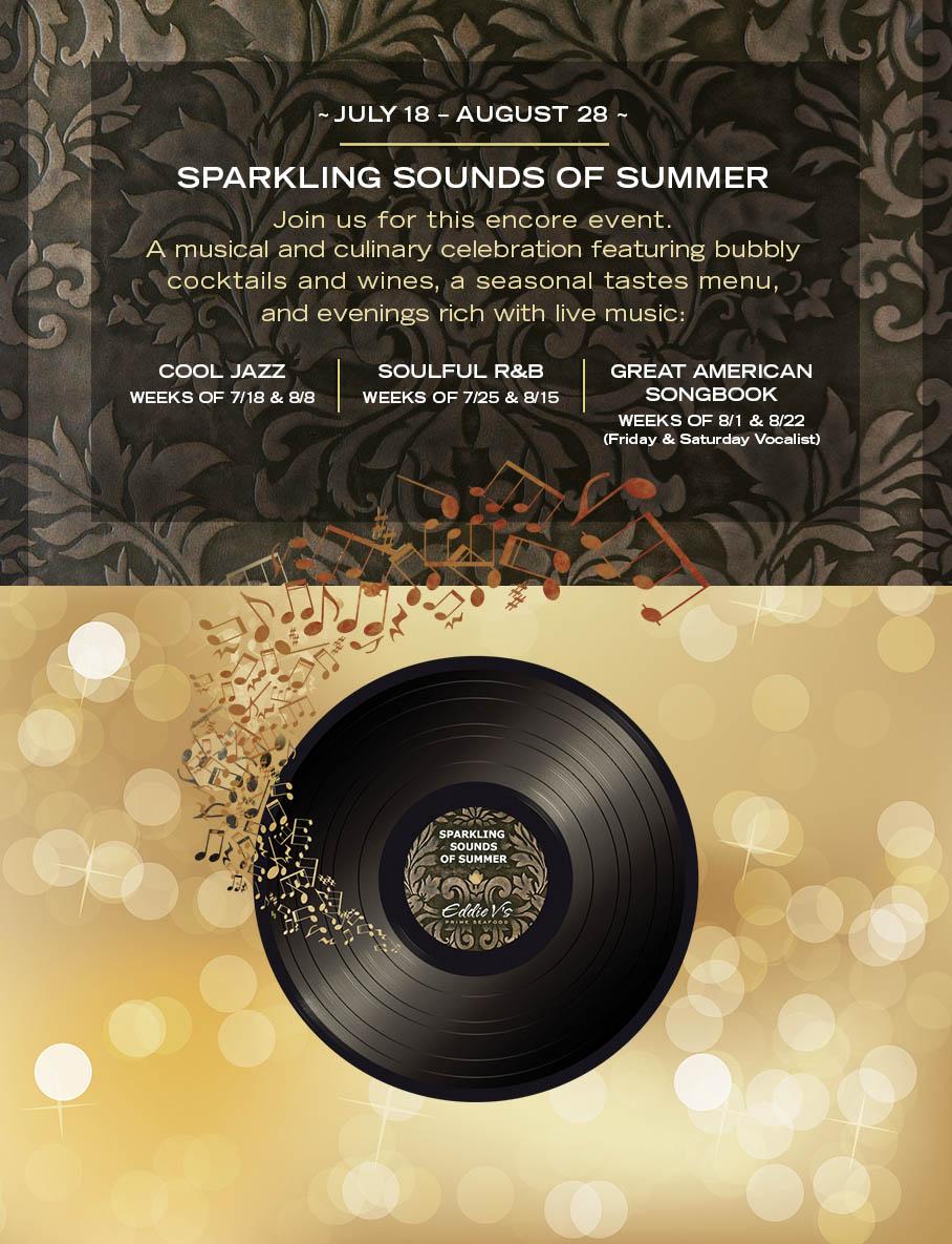 Sparkling Sounds of Summer at Eddie V's