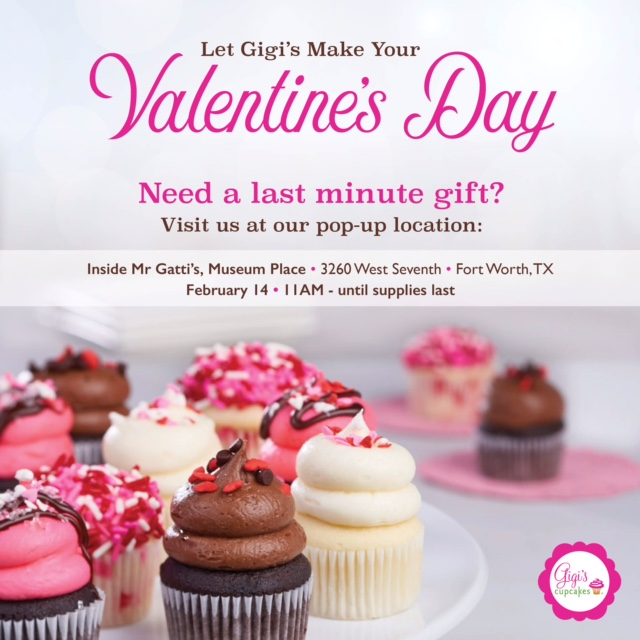 Gigi's Cupcakes Valentine's Day Pop-Up